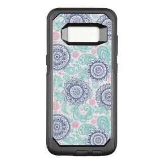 Ethnic Paisley Pattern OtterBox Commuter Samsung Galaxy S8 Case
