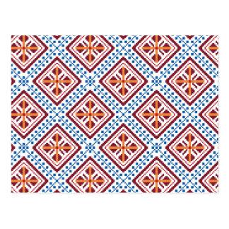 Ethnic Pattern 1 Postcards