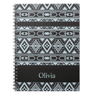 Ethnic pattern american traditional ornament note book