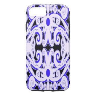 Ethnic Pattern Blue iPhone 7 Case