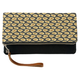 ETHNIC PATTERN CLUTCH BAG
