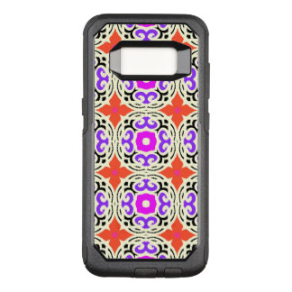 Ethnic Pattern with Moroccan Motifs OtterBox Commuter Samsung Galaxy S8 Case