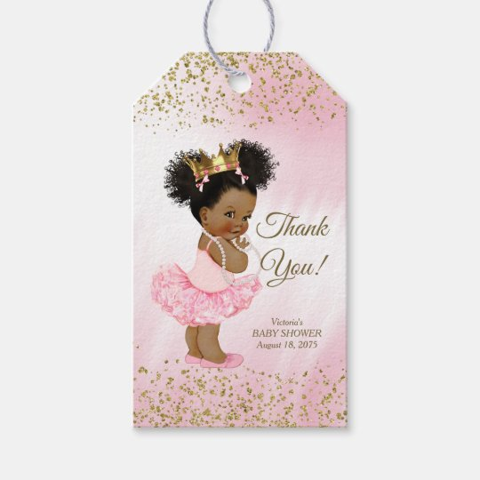 Ethnic Princess Baby Shower Gift Tags Zazzle Ca