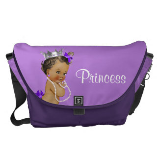 Ethnic Princess Pearls Lavender Baby Diaper Bag Courier Bags