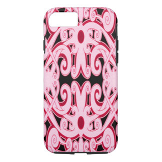 Ethnic red pattern iPhone 7 case