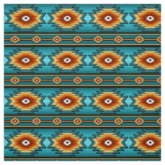 ethnic southwestern pattern fabric