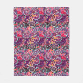Ethnic Style Animal Pattern Fleece Blanket