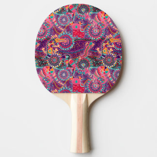 Ethnic Style Animal Pattern Ping Pong Paddle