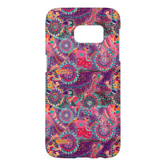 Ethnic Style Animal Pattern Samsung Galaxy S7 Case