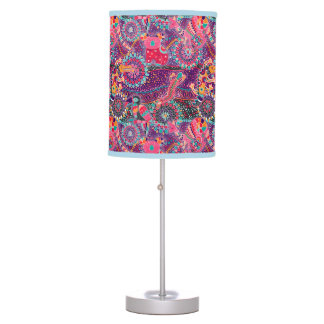 Ethnic Style Animal Pattern Table Lamps