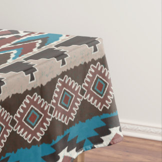 Ethnic style,geometric pattern,Aztec Tablecloth