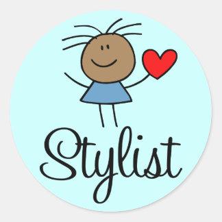 Ethnic Stylist Sticker