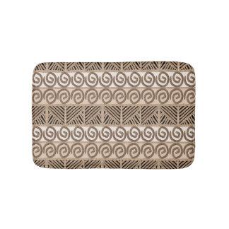 ethnic tribal african hand-drawn pattern. bath mat