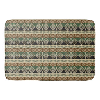 ethnic tribal african pattern bath mat
