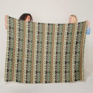 ethnic tribal african pattern fleece blanket