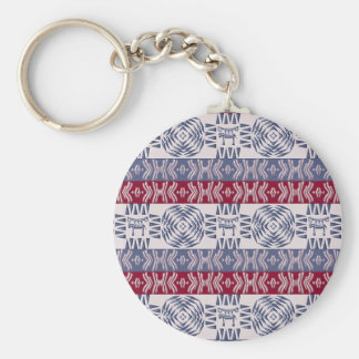 Ethnic tribal african  pattern. keychain