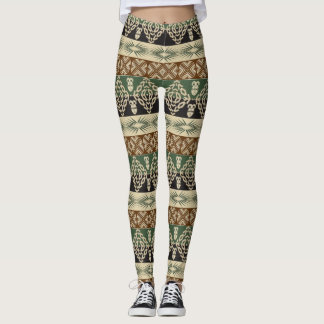 ethnic tribal african pattern leggings