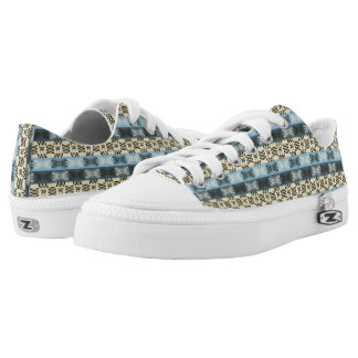 ethnic tribal african pattern Low-Top sneakers