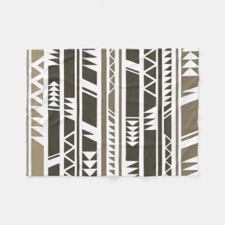 Ethnic Tribal Print Design Fleece Blanket