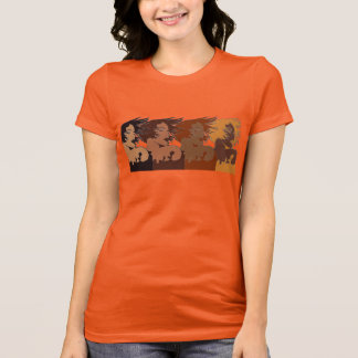 Ethnic Women in the Wind T-Shirt