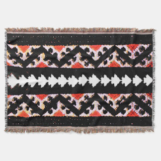 ETHNO CHIC 3 THROW BLANKET