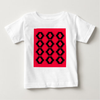Ethno design  Red  mayan design Baby T-Shirt