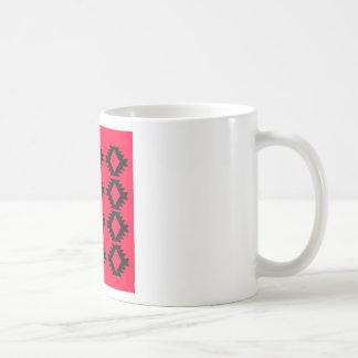 Ethno design  Red  mayan design Coffee Mug