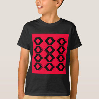 Ethno design  Red  mayan design T-Shirt