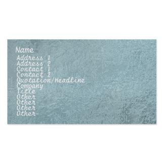 Étincelle en soie du satin ART101 bleu-clair Modèle De Carte De Visite
