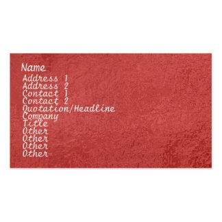 Étincelle en soie du satin ART101 rouge foncé Modèles De Cartes De Visite