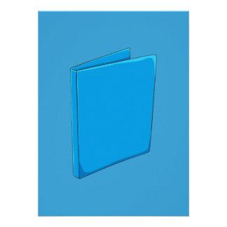 Étiquette bleu fait sur commande bristols personnalisés