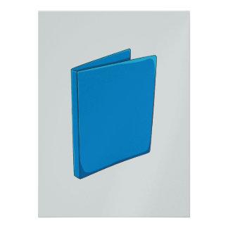 Étiquette bleu fait sur commande faire-part personnalisé