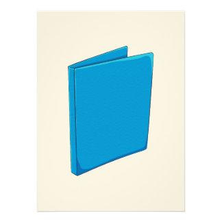 Étiquette bleu fait sur commande invitation personnalisée