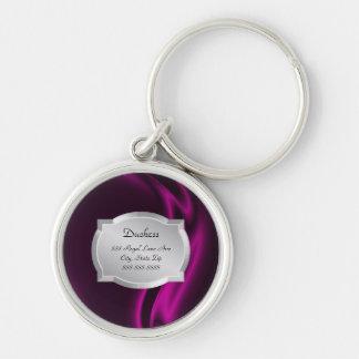 Étiquette d animal familier de duchesse Pink Silk