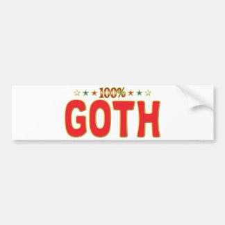 Étiquette d étoile de Goth Adhésifs Pour Voiture