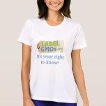 Étiquette OGM T-shirts