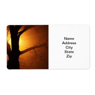 Étiquettes de adresse étiquettes d'expédition