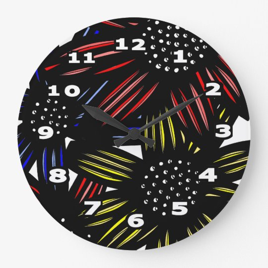 """Etling"" Round Wall Clock"