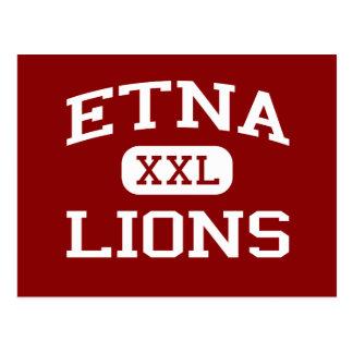 Etna - Lions - Senior - Etna California Postcard