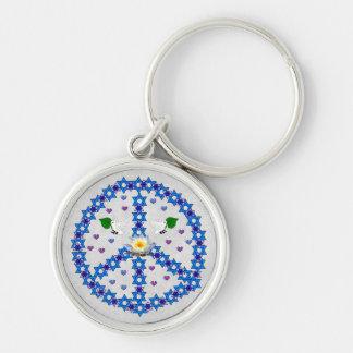 Étoile de David de paix Porte-clef