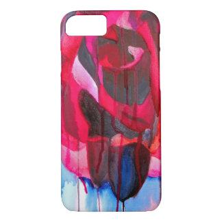 Etoile de Holland modern rose original art iPhone 7 Case