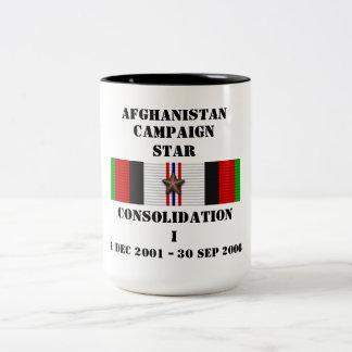 ÉTOILE de la consolidation I/CAMPAGNE Mug Bicolore