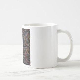 étoile de mélange de couleur mug