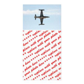 Étoile filante P-80 Cartes De Vœux Avec Photo