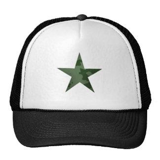 Étoile verte casquette de camionneur