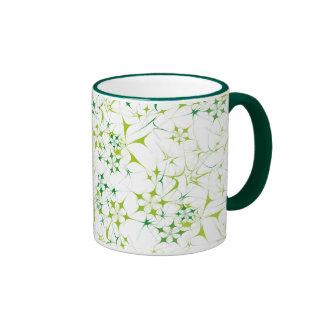 Étoile verte tasse