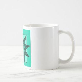 Étoile verte mugs