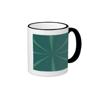 Étoile verte mug à café