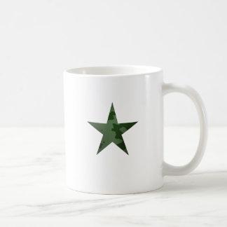 Étoile verte mug