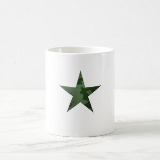 Étoile verte tasses